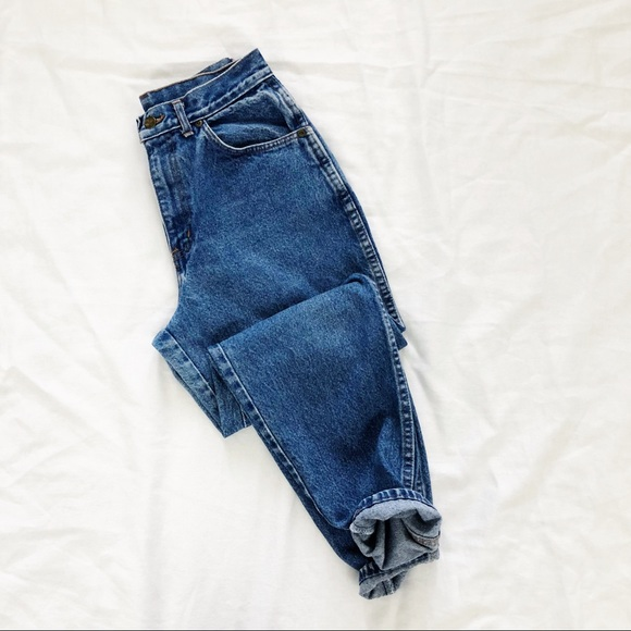 Vintage 1970s80s High-waisted Chic Jeans